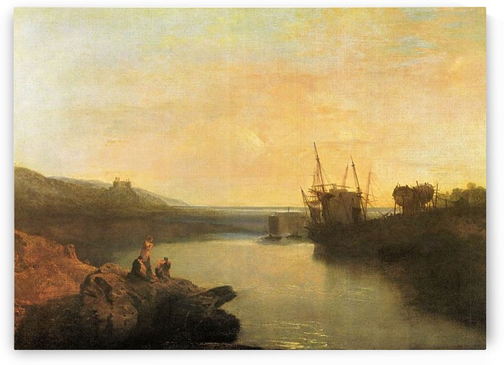 Harlech Castle by Joseph Mallord Turner by Joseph Mallord Turner