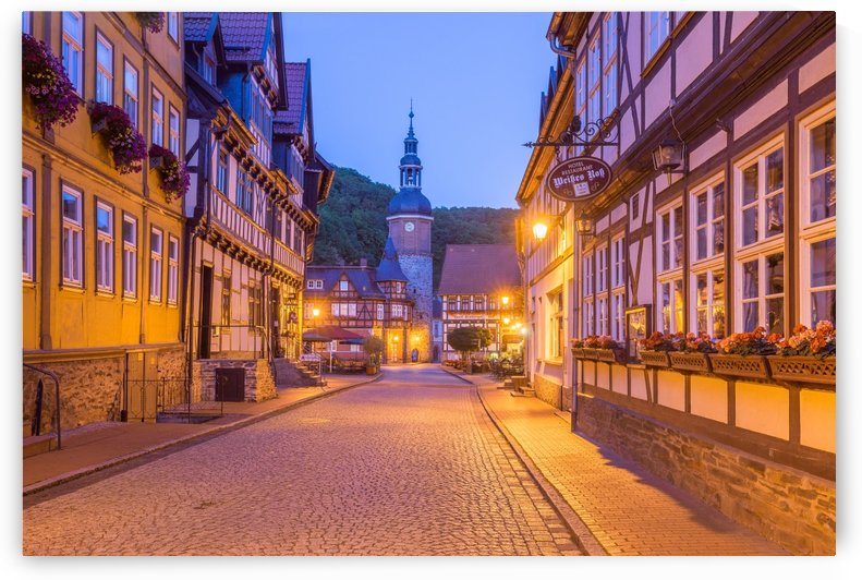 Stolberg Half Timbered Houses by Patrice von Collani