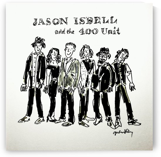 Jason Isbell and The 400 Unit by Gerri Findley