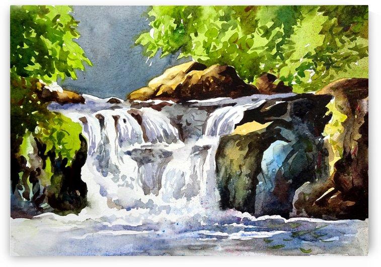 Waterfalls 9 by Sumit Datta