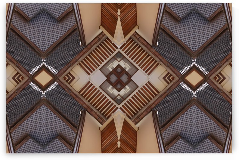 Kaleidoscope made modern look for old building by Krit of Studio OMG