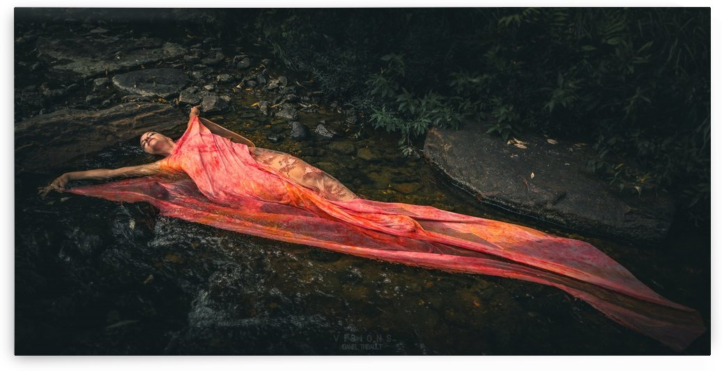 Mizu no hana 3 by Daniel Thibault artiste-photographe