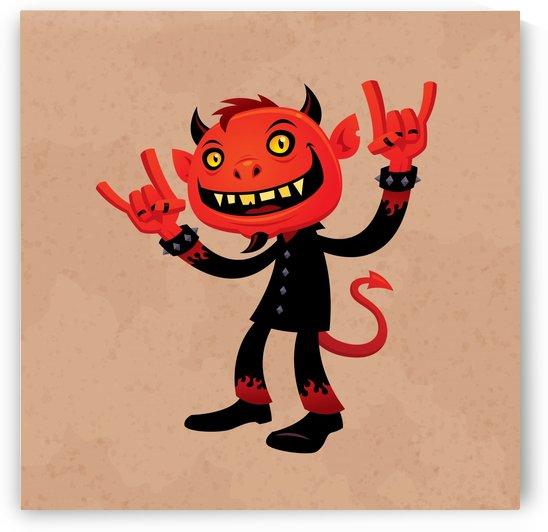Heavy Metal Devil by fizzgig