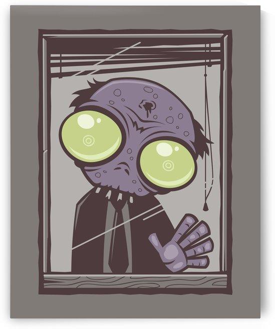 Office Zombie by fizzgig