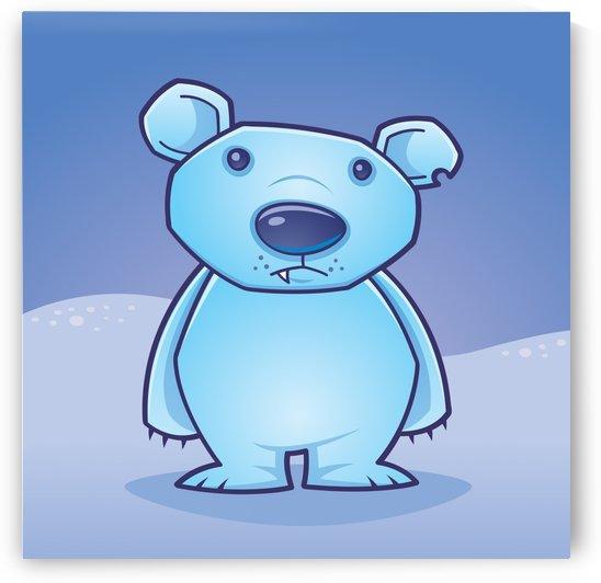 Polar Bear Cub by fizzgig
