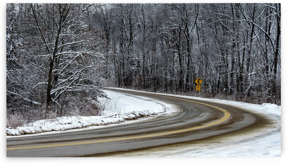 Curve in the road of Life by Ljphoto