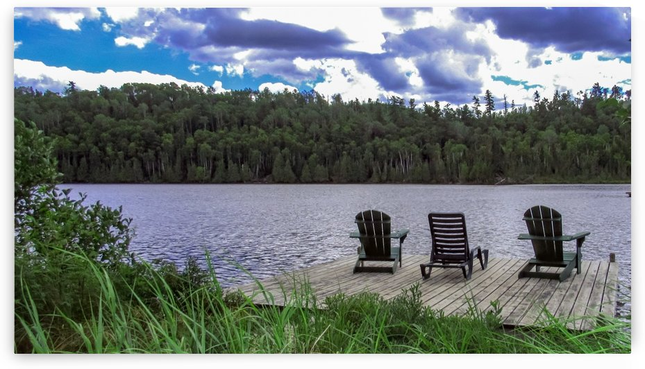 Gunflint Lake by Leora J Busch
