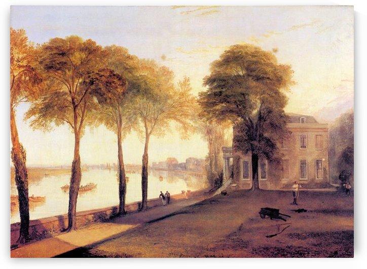 Home of William Moffatt by Joseph Mallord Turner by Joseph Mallord Turner