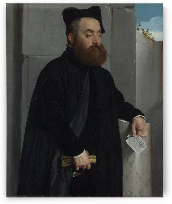 Canon Ludovico di Terzi by Giovanni Battista Moroni