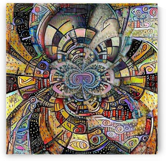 Ethnic motif by Bruce Rolff