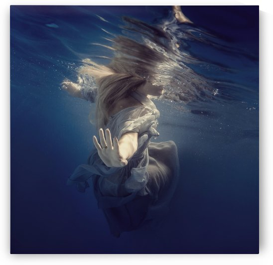 Dive into the blue by Dmiry Laudin