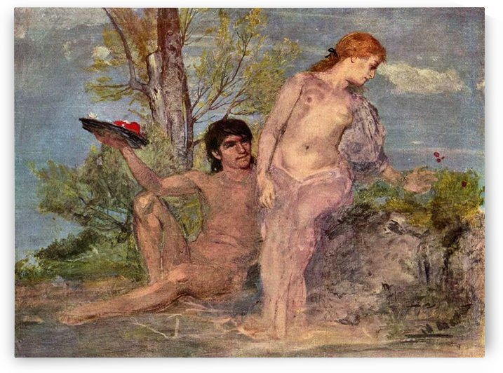 Idyll by Arnold Bocklin by Arnold Bocklin