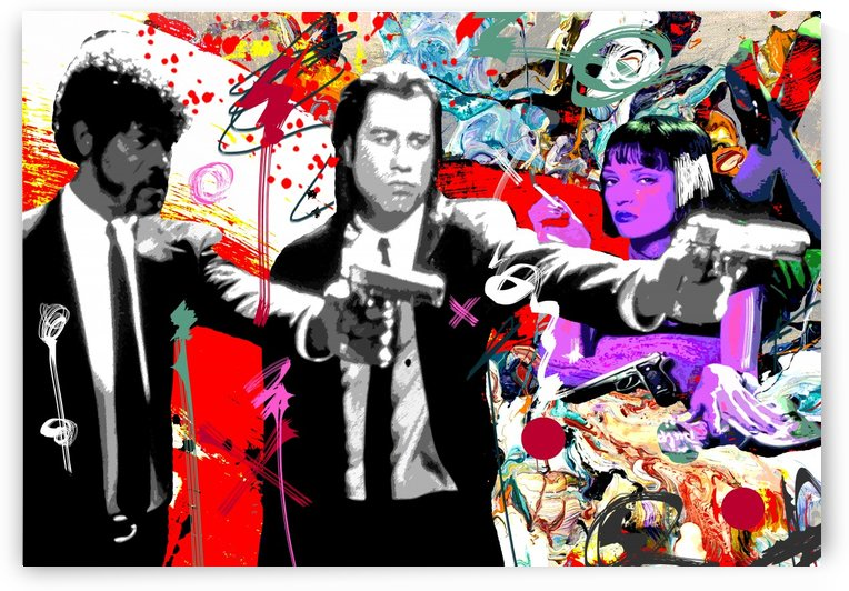 Pulp Fiction X by GABA