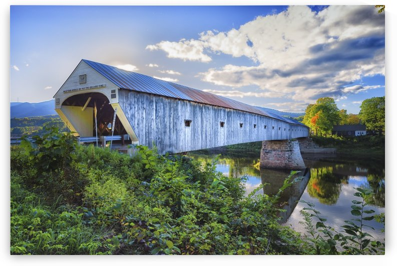 Longest Wooden Covered Bridge in the World by Ben Tolosa