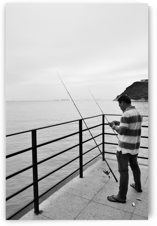 Fisherman  by Leyre