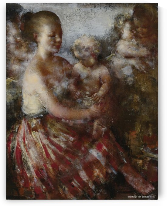 Nursery Tune by Grigory Gluckmann
