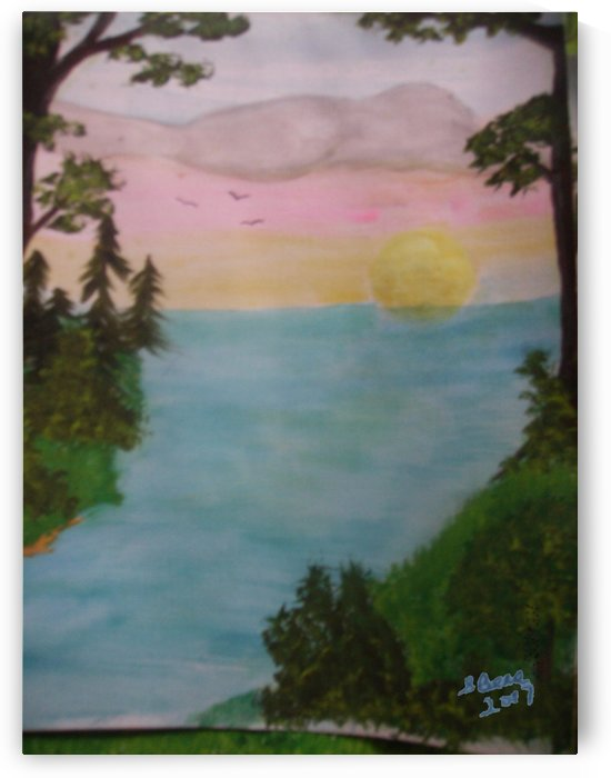 Sunset by Bells Paintings