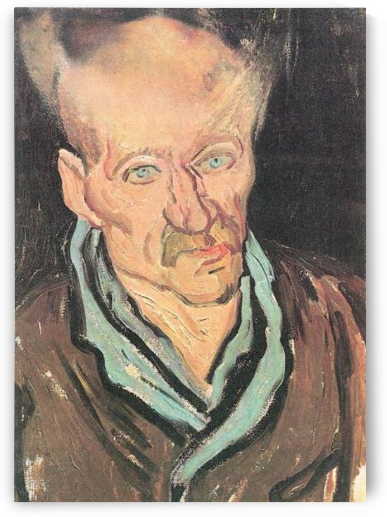 Images of a patient at the Hospital Saint-Paul by Van Gogh by Van Gogh