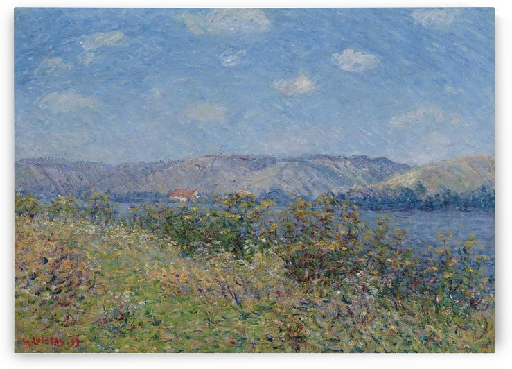 The Banks of the Seine, Tournedos-sur-Seine by Gustave Loiseau