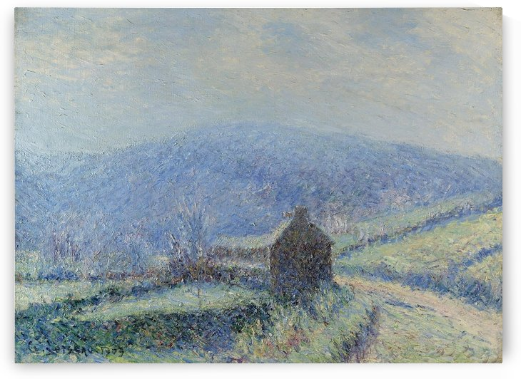 The Frost at Huelgoat, Finistere by Gustave Loiseau