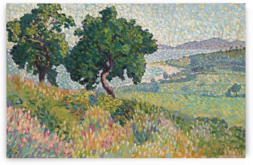 The Bay of Saint Clair by Henri Edmond Cross