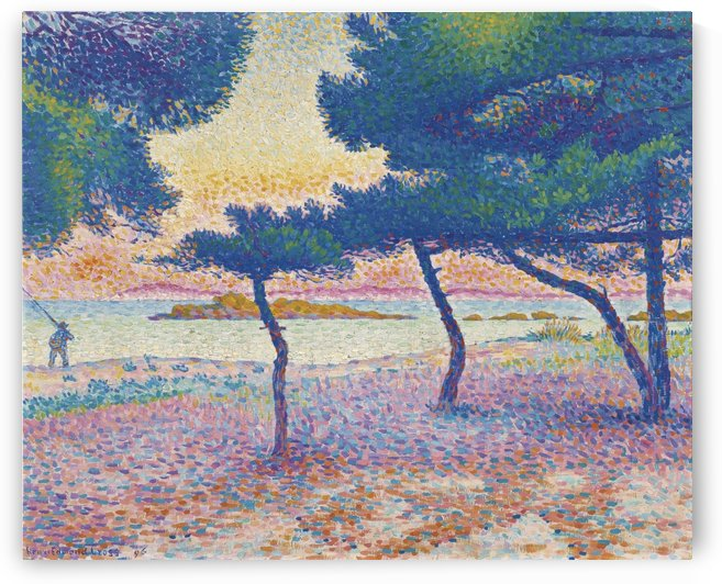 Landscape, Saint Clair by Henri Edmond Cross