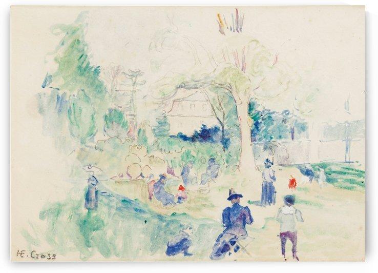 Ranelagh (study) by Henri Edmond Cross