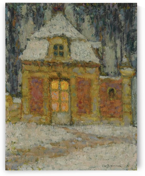 Snow, Versailles by Henri Le Sidaner