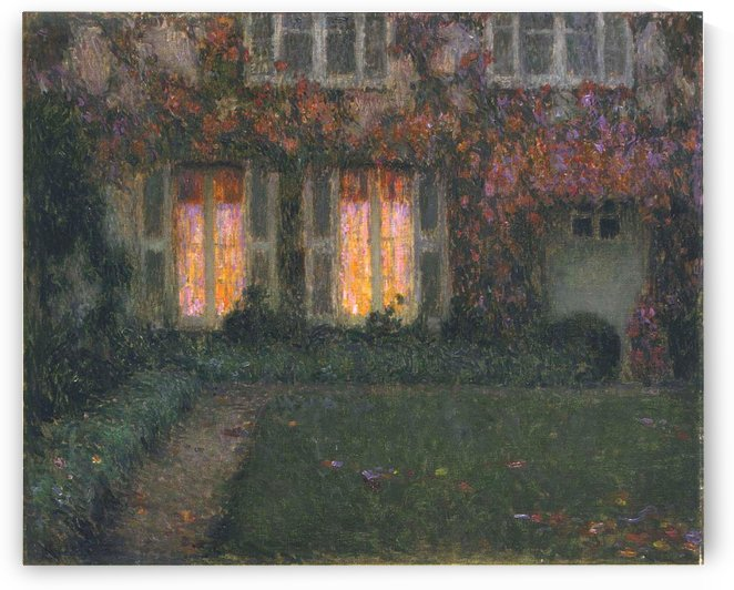 The Window in Autumn by Henri Le Sidaner