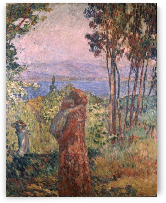 Promenade by Henri Lebasque