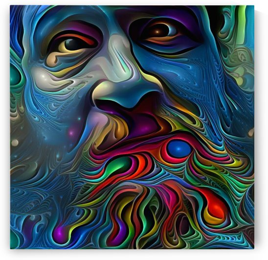 Wise Man by Bruce Rolff