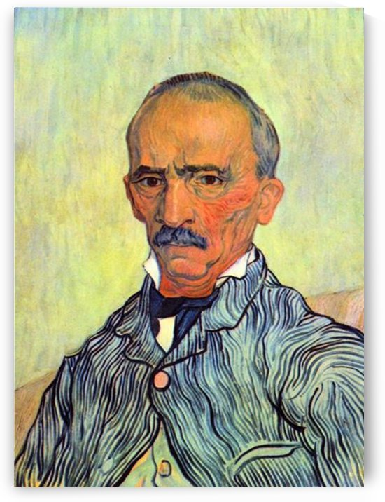 Keeper of lunatic asylum of Saint-Paul, Trabucby Van Gogh by Van Gogh