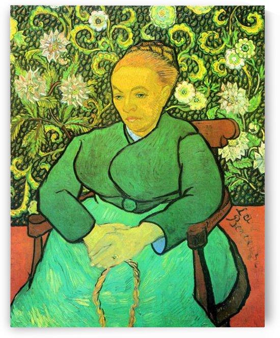 La Berceuse (Augustine Roulin) by Van Gogh by Van Gogh
