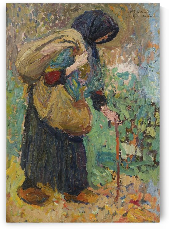 Old Peasant Woman by Henri Martin