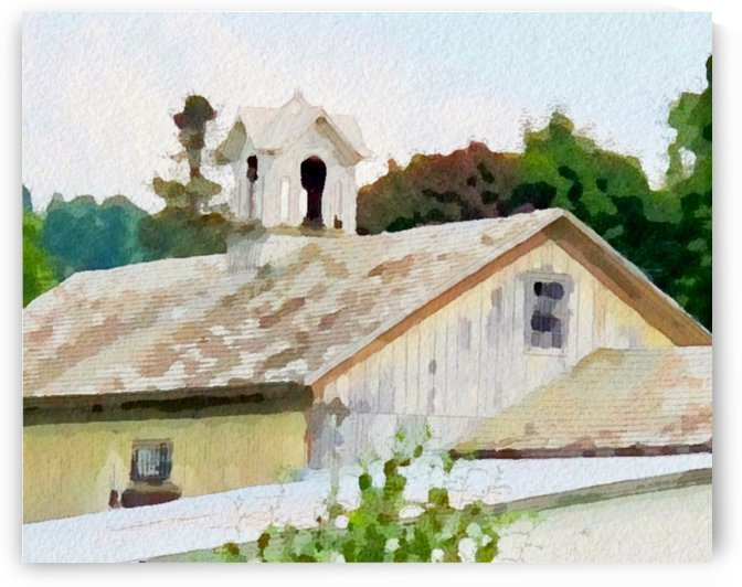 Cummington Barn Roofs by Harry Forsdick