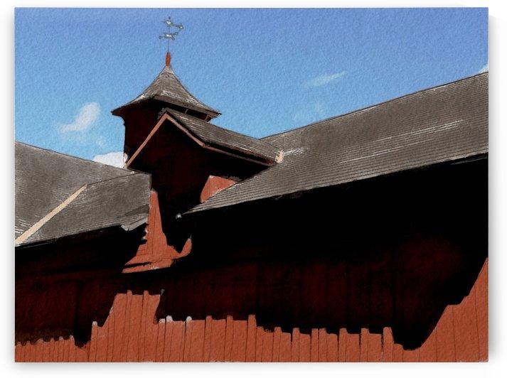 Cummington Bryant Barn by Harry Forsdick