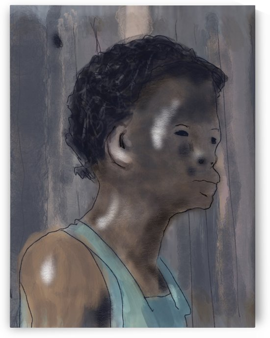 Whitney Plantation Slave Girl 5 by Harry Forsdick