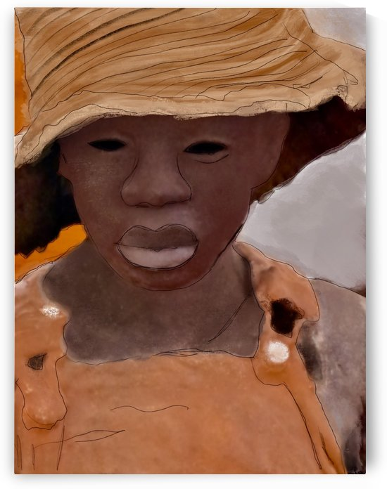 Whitney Plantation Slave Girl 1 by Harry Forsdick