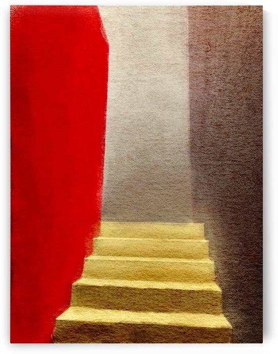 Mexico Oaxaca Stairway by Harry Forsdick