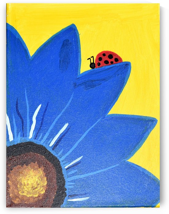 Blue Lady Bug. Maggie Z by The Arc of the Capital Area