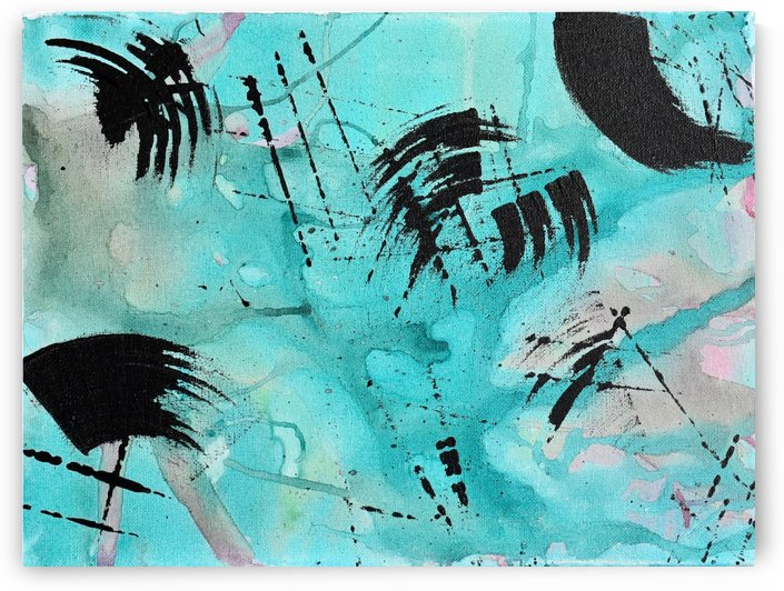 Abstract Watercolor. Geoffory E by The Arc of the Capital Area