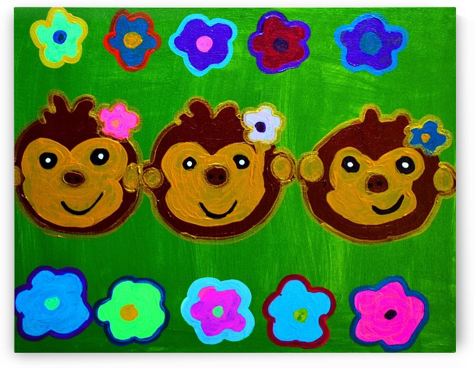 Chain of Monkey.Ali H by The Arc of the Capital Area
