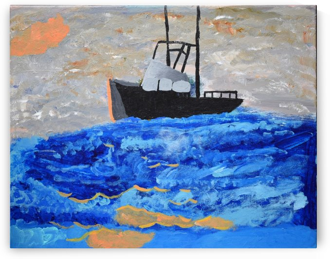 Tug Boat. Davey K by The Arc of the Capital Area