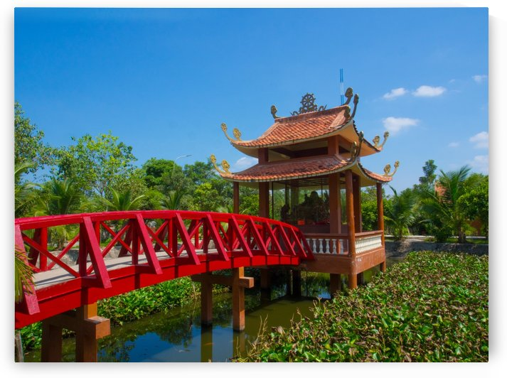 Can Tho temple VietNam by Asia Visions Photography