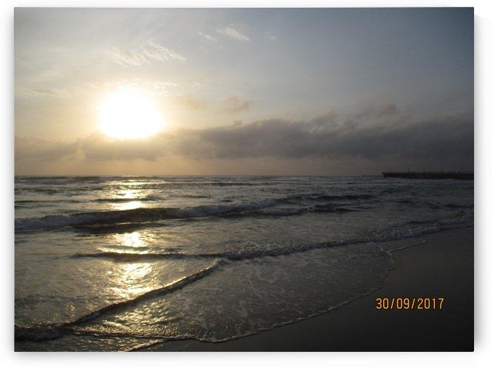 Sunrise View @ Durban beach by Collen Mashila