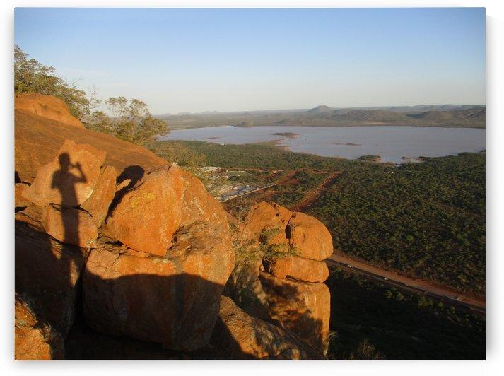 Gaborone dam View from Kgale hill by Collen Mashila