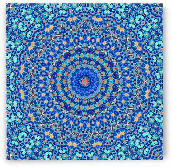 Abstract Mandala III by Art Design Works