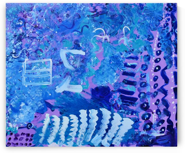 Blue Colab. Arts Education Artist by The Arc of the Capital Area