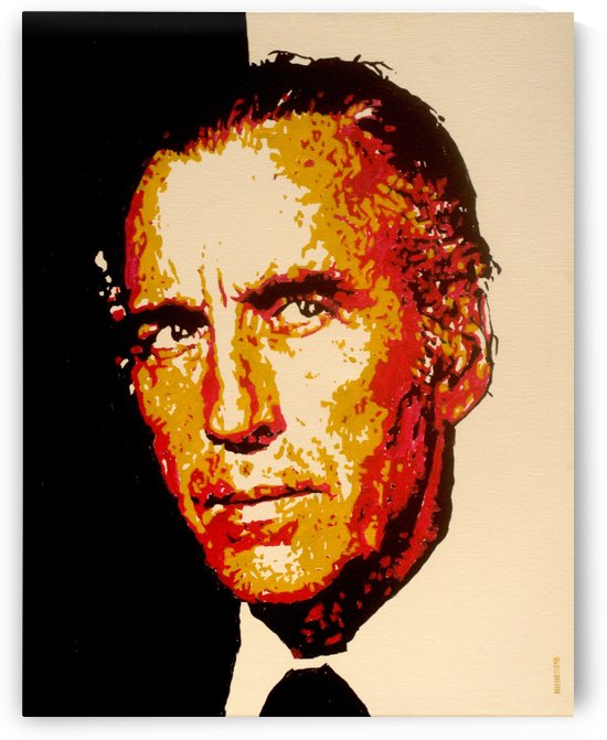 Christopher Lee by Marcus Wells