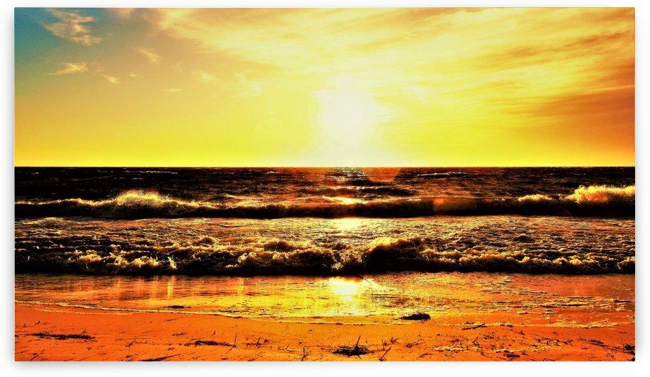 sunny beach by Anu Hamburg